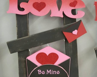 Valentines  Interchangeable ladder kit