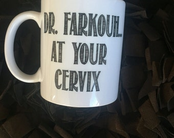 Ob/gyn personalized ceramic 11oz coffee mug obgyn
