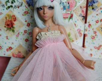 MSD BJD Dress Skirt Necklace for 1/4 doll Minifee Unoa Narae