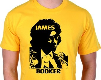 James Booker T-shirt - R&B, Jazz, New Orleans, Various Sizes/Colours