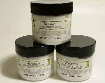 Facial Moisturizer - 4 oz. size - Your Choice of Scent