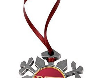 Virginia Tech Hokies Snowflake Ornament