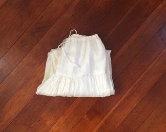silk Indian harem pants
