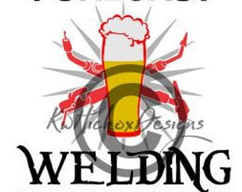 Welding Svg, Beer Svg, Weld Svg, Welding Dxf, Dxf For Silhouette, Svg File