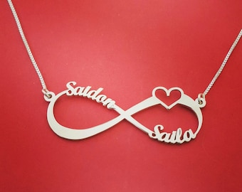 Cool christmas presents christmas presents for mom heart infinity necklace christmas presents for girlfriend best christmas presents for her