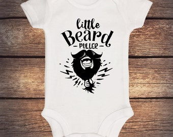 Baby Onesie I Have A Fuzzy Daddy Bearded Beard New Dad New