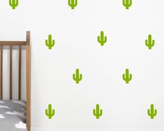 Mini Cactus Wall Stickers