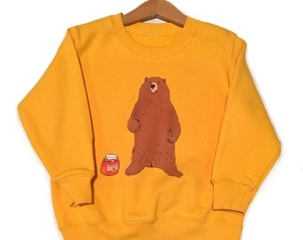 Unisex bear sweater