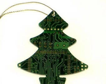 Real Circuit Board/Motherboard Christmas Decoration Tree/Star/Snowman - Tech Accessories - Office Gifts - Geeky Gifts