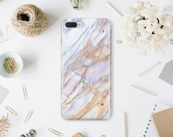 Gold Marble Case iPhone X Hard Case For Samsung S6 Marble 7 Case Phone iPhone Case iPhone 7 Plus iPhone 6 iPhone 6s Case Stone WA1090