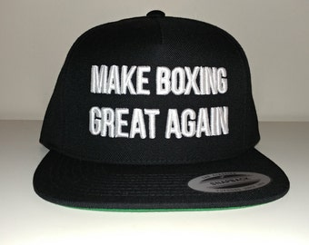 Make Boxing Great Again Snapback