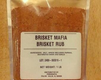 1 Pound Brisket Mafia Brisket Rub