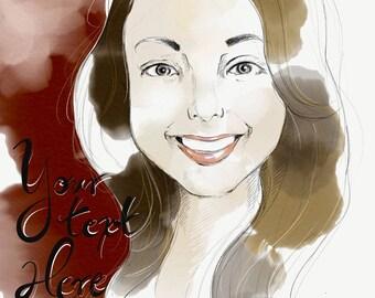 Custom Portrait (digital illustration)