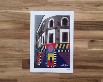 Hackney Well Street prints in various sizes