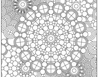 Circle Mandala Pattern #1