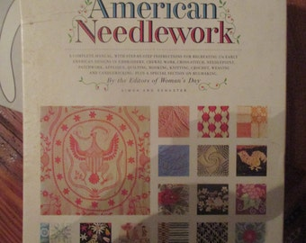 Patterns and Instructions for American Needlework 1963 Full Size Patterns
