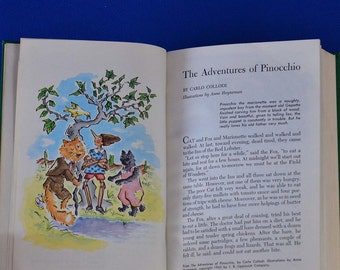 Magic in the Air - Collier's Junior Classics - The Young Folks Shelf Of Books #3 - Vintage Children's Book c. 1962
