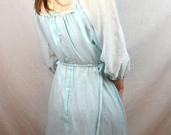 Vintage 70s 1970s Jody T of Calfornia Prairie Lace Maxi Dress
