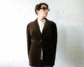 rich brown velvet vintage tan jay jacket - 1211245