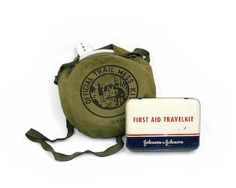 Vintage Survival Kit: Boy Scouts Canteen