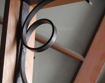 Modern  Iron Scroll Brackets - Style 03