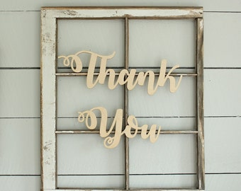 Thank You Sign Wedding Thank You Photoprop Sign