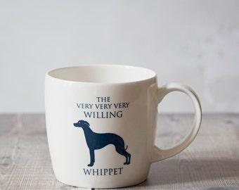 Whippet Mug - Whippet Design - Whippet Present - Whippet Gift - Whippet Cup - Whippet Design - Gifts For Dog Lovers - Gifts For Dog Owners