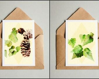 "Alaskan Botanical Postcards, Alaska Postcard Set, 5""x7"" Postcards"