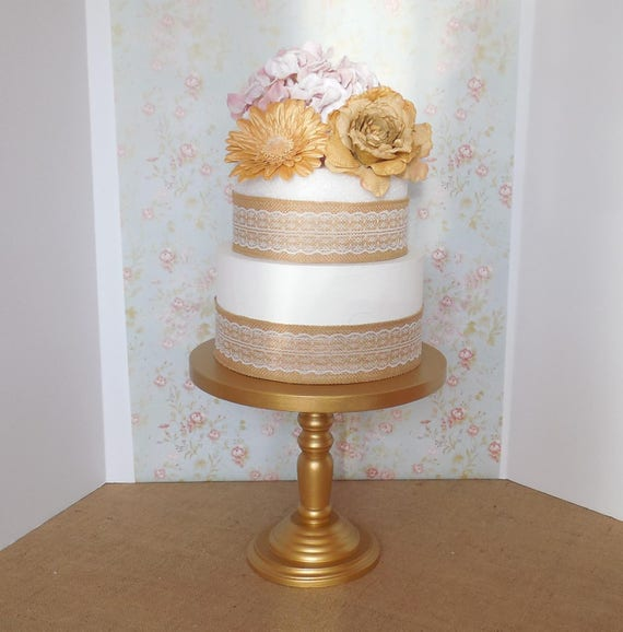 12 wedding cake stand 12 gold cake stand wedding cake stand wood cake 10037