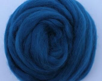 FUSION BLUE - Merino Wool Roving 1/4oz, 1/2oz or 1oz