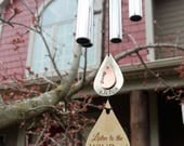 Memorial Wind Chime Grieving Gift Wind Chime Custom Gift After Loss Of Mom Dad or Loved One In Memory of stillbirth miscarriage memorial gar