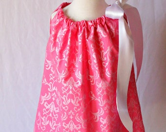 Toddler Pillowcase Dress, Pillowcase Dress Toddler, Little Girls Dress, Little Girls Dresses, Toddler Easter Dress, Spring Dress Pink