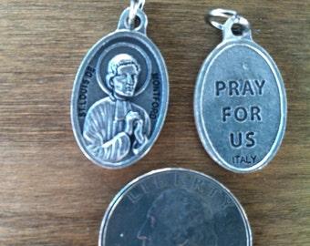 St. Louis Marie de Montfort/Montford holy medal - True Devotion to Mary - Catholic saint - patron of preachers, Company of Mary