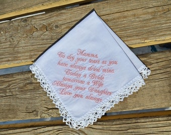 A Wedding Gift From Mother To Daughter Suggestions : ... mom gifts idea wedding hankerchief bride gift daughter bridal gift for