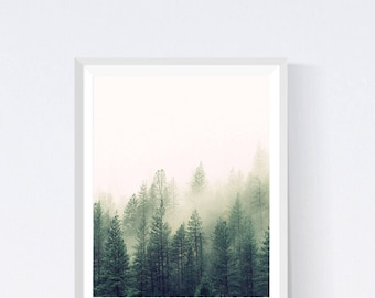 Forest print, forest, forest prints, tree print, tree prints,  nature prints, nature photography, nature art, prints, printable artwork,