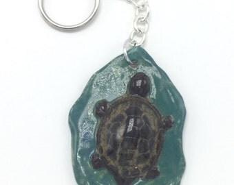 Turtle key ring