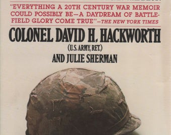 About Face The Odyssey of an American Warrior Book 1989 by Colonel David H Hackworth and Julie Sherman