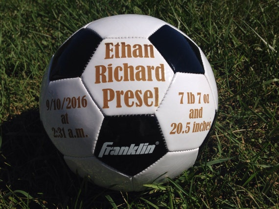 Ring Bearer Gift Personalized Soccer ball Groomsmen Gift