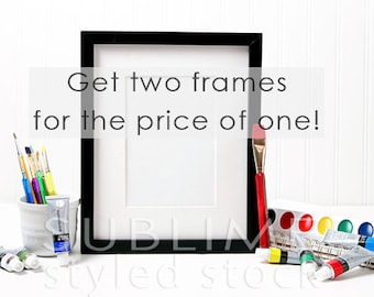 Styled Stock Photography / Blank Frame / Mock up / Styled Frame / Empty Frame / Frame Mock Up / Frame Background / StockStyle-651