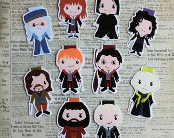 Wizard Bookmarks Individuals and Set | Magnetic Bookmarks