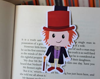 Willy Wonka Magnetic Bookmark