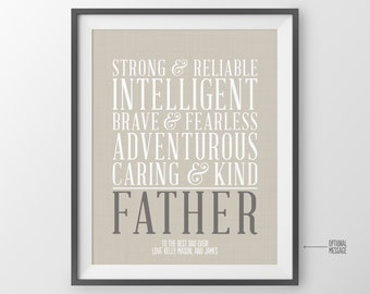 Personalized Gift for Father Gift Fathers Day Gift for Dad Birthday Gift for Dad from Kids for Dad Christmas Gift for Dad Gift Ideas for Him