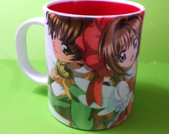 Cute Card Captor Sakura Mug Coffee Tea Cup Anime Shaoran Clamp