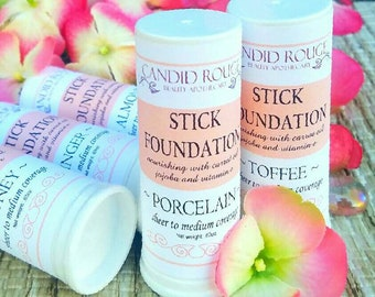 Stick Foundation, Natural Cream Makeup, All Natural Foundation - Candid Rouge