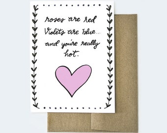 Card For Boyfriend, Naughty Card, Dirty Valentines Day Card, Funny Valentines  Day Card