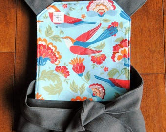 Baby Doll Carrier - Blue Birds