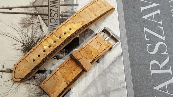 Portuguese Cork Watch Strap - Handmade 01