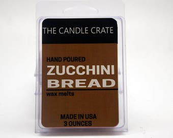 Zucchini Bread Scented Soy Wax Melts