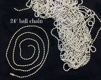 "Ball Cain 30"" for Charms"
