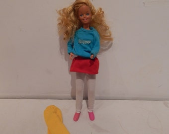 Vintage Hot Stuff Skipper Doll 7927 Mattel 1984